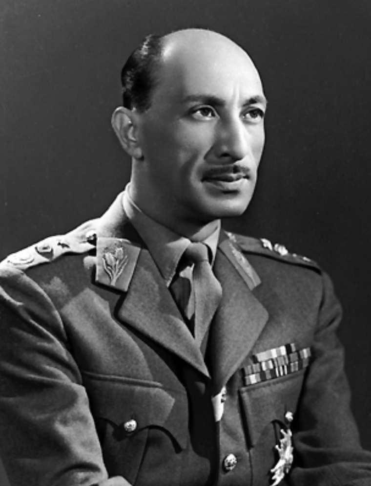 El último rey de Afganistán, Zahir Shah, en 1963.