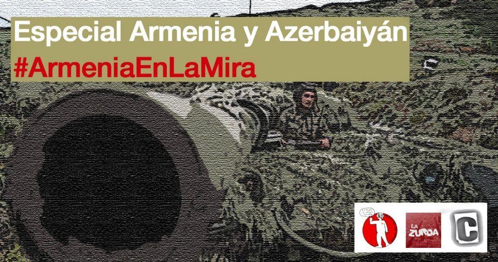 Conflicto en Nagorno Karabaj. Entrevista a Abel Riu por @LaZurdaTV #ArmeniaEnLaMira